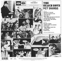 THE BEACH BOYS Pet Sounds Vinyl Record LP Capitol 2016
